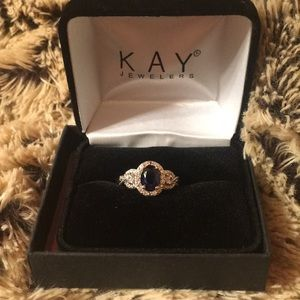 KAY jewelers sapphire ring